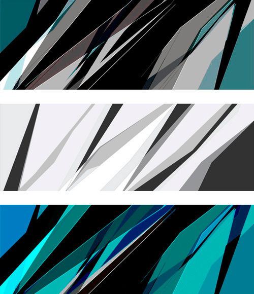 Light Shards #design #graphic #geometric #illustration #art