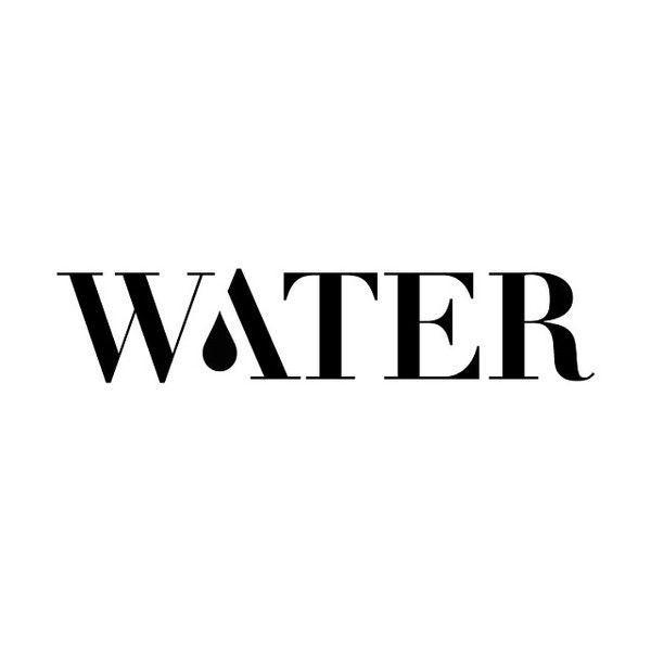Water #drop #water #typography