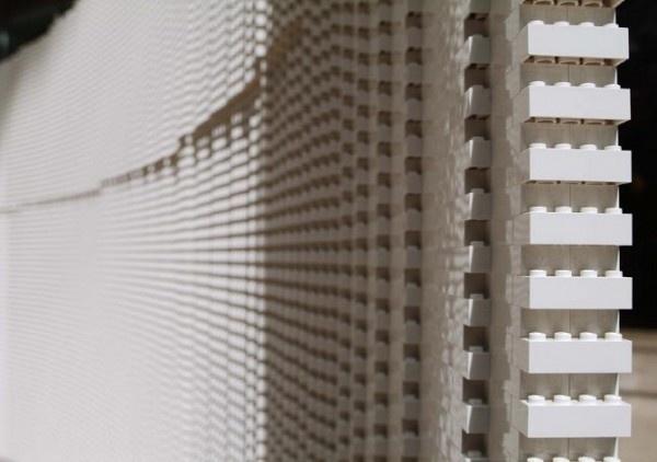 One woman, 6 weeks, and 270,000 white LEGO bricks #lego #installation