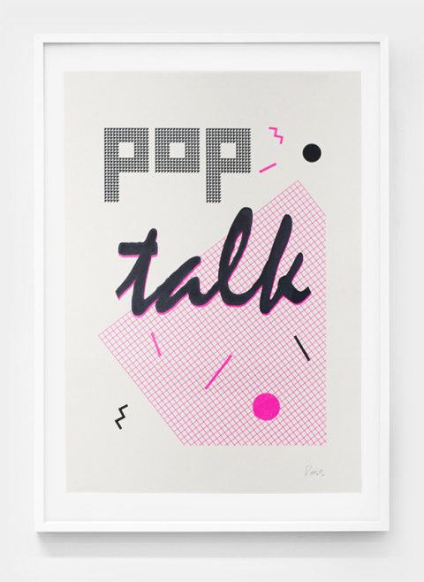 Stu Ross | PICDIT #print #design #graphic #poster #art #type