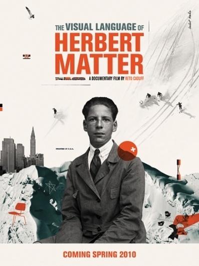 HERBERT_MATTER_POSTER.jpg (437×582) #movie #photography #portrait #poster #type #collage