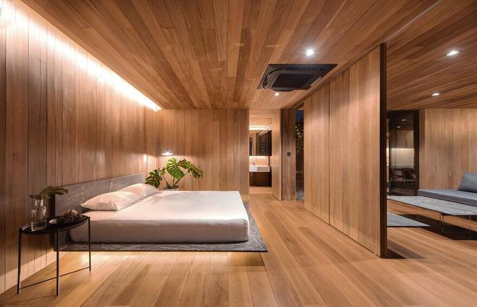 bedroom, Chatuchak, Bangkok / WARchitect