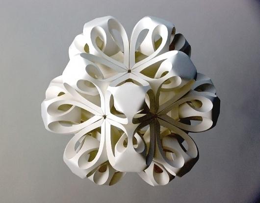 Richard Sweeney #sculpture #sweeney #richard #photography #folding #paper