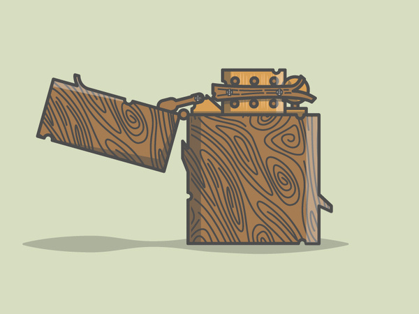 Kemal xc5x9eanlxc4xb1 #illustration #vector #lighter