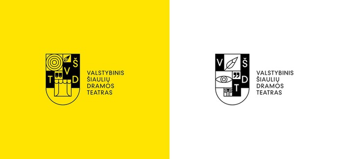 Šiauliai Drama Theater Branding - Mindsparkle Mag Aivaras Bakanauskas designed the branding for Šiauliai drama theater (Valstybinis Šiaulių dramos teatras) – the second theater in the history of Independent Lithuania. #logo #packaging #identity #branding #design #color #photography #graphic #design #gallery #blog #project #mindsparkle #mag #beautiful #portfolio #designer