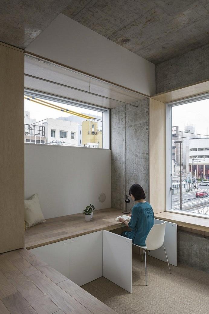 Tatsumi Apartment - Hiroyuki Ito Architects 7