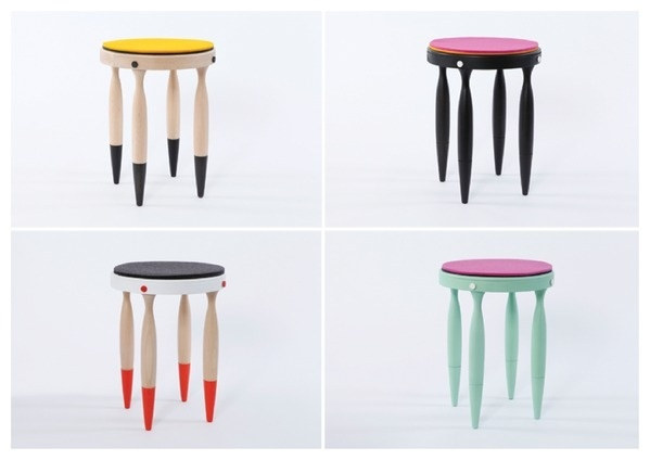 Creature Collective on Behance #chairs