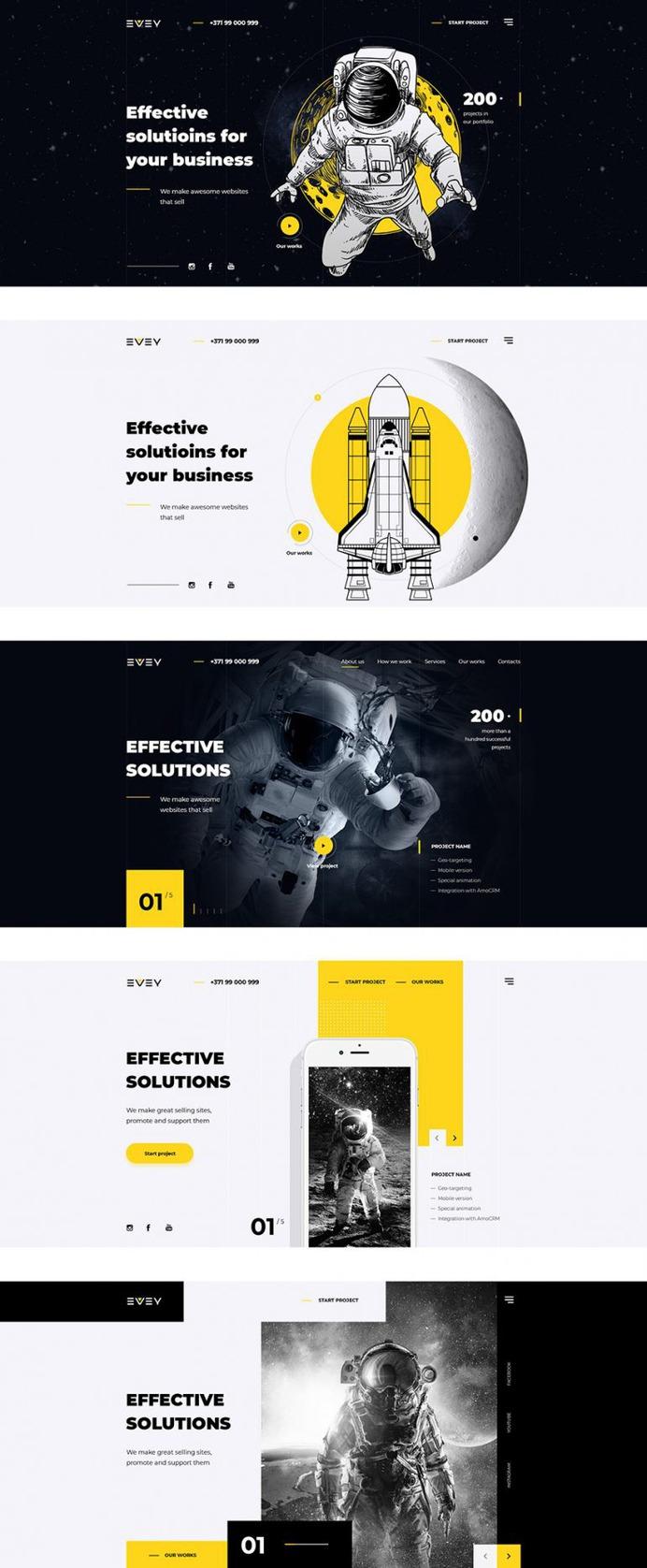 Evey — Portfolio Creative Agency