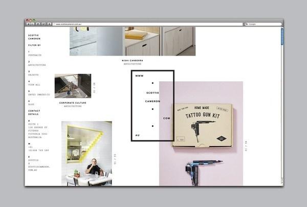 Scottie Cameron   COÖP #layout #identity #web