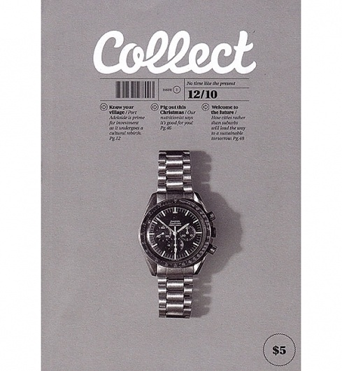 Eight Hour Day » Blog #advertising #collect #watch #typography