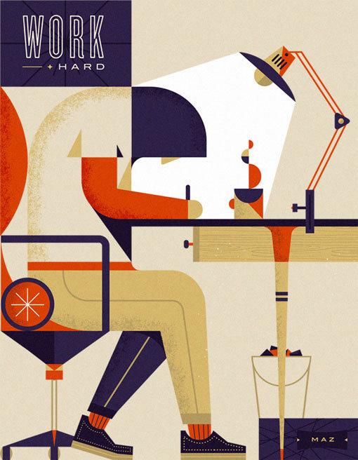 MartinAzambuja_01 #illustration #poster