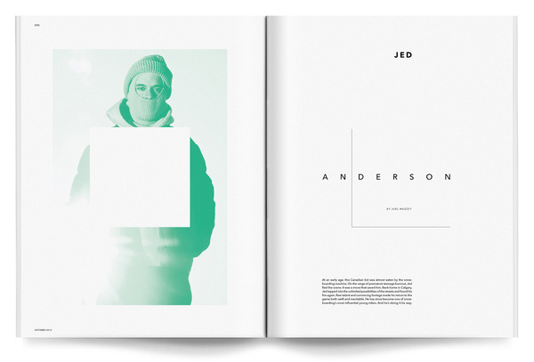 Jed Anderson Interview #jed #snowboarding #design #interview #anderson #direction #koop #transworld #dustin #art #editorial #magazine