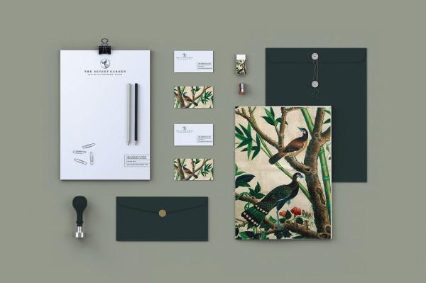 Secret Garden #brand #stationary #guideline