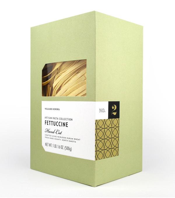 Williams Sonoma Pasta 2 #packaging #color #pattern #minimal