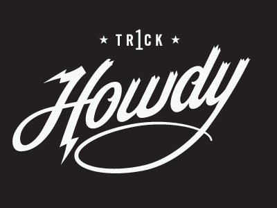 Visual Graphic , Howdy #logo #vintage