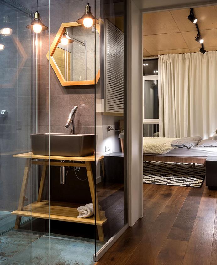 True Apartment by SVOYA Studio - #decor, #interior, #homedecor, #bath