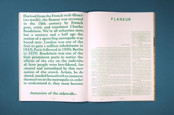 Flaneur mag #layout #design #graphic #magazine