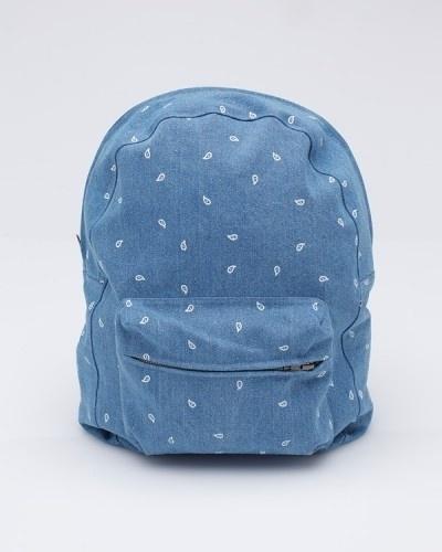 Dailymovement #rucksack #backpack #denim #bag #blue
