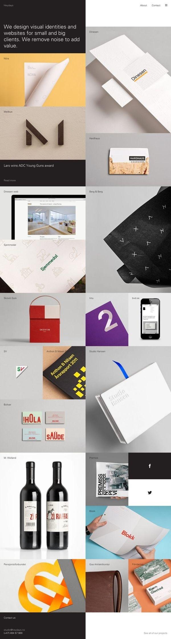 http://heydays.no/ #design #web #webdesign