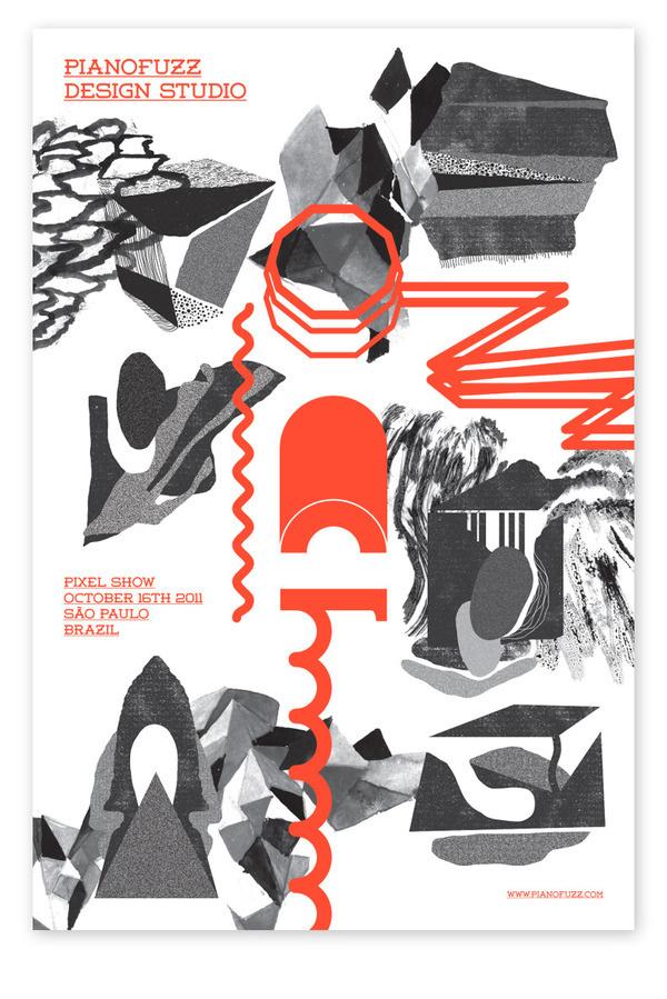 Pixel Show 2011 Pianofuzz #print #design #graphic #illustration
