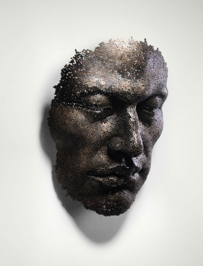 Astounding Chain Sculptures by Seo Young Deok | WANKEN - The Art & Design blog of Shelby White #young #sculpture #seo #chain #art #deok