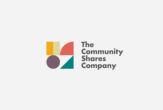 The Community Shares Company by Fieldwork #logo #logotype #mark #symbol