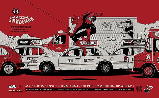 EXCLUSIVE: Check Out This Gorgeous Spider-Man Poster From Mondo's Marvel Show