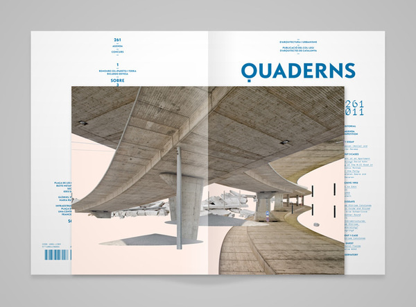 Magspreads editorial design and magazine layout for Architectural design magazine