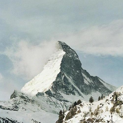 Enjoying This #mountain #snow #nature