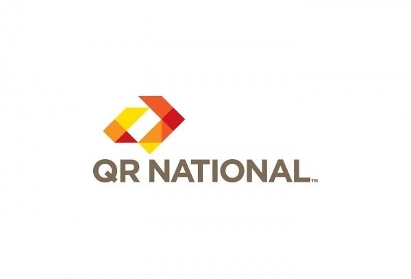 QR National : Cornwell : Brand and Communications #train #design #geometric #brand #identity #logo #national
