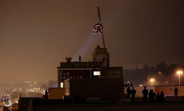"Iconic Rainier ""R"" back on top 