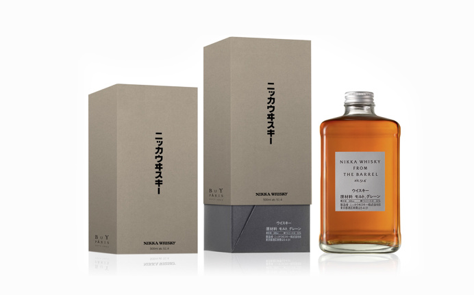 Nikka Whisky Packaging