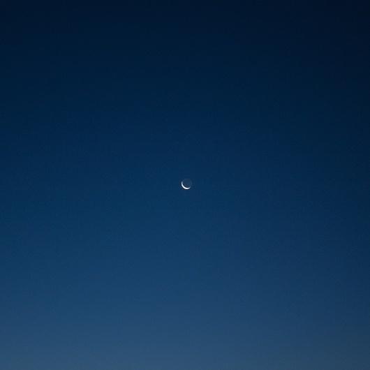 Moon #blue #moon #sky