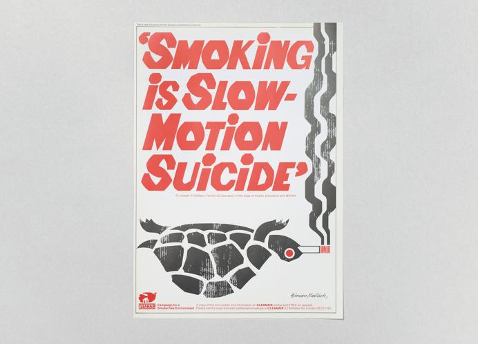 Biman Mullick's anti-smoking posters