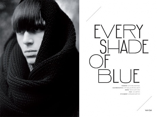Every shade of Blue | Volt Café | by Volt Magazine #white #design #graphic #volt #black #photography #art #and #fashion #layout #magazine #typography