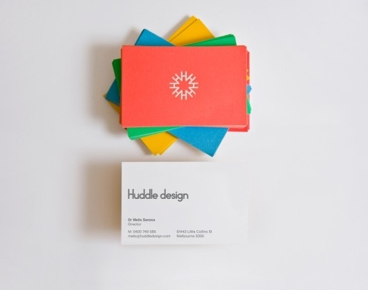 Huddle design : A Friend Of Mine #huddle #business #print #design #cards #afom
