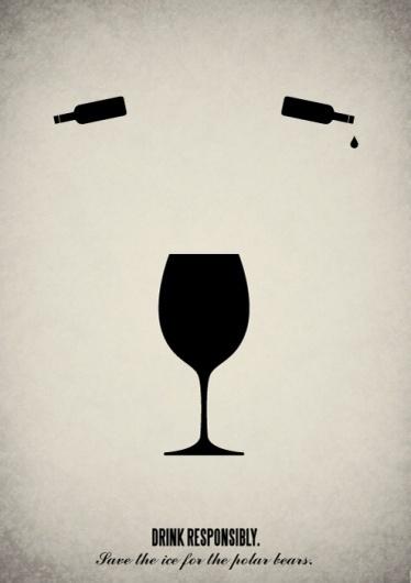 Pictogram illustrations on the Behance Network #drink #tear #wine #glass #bear