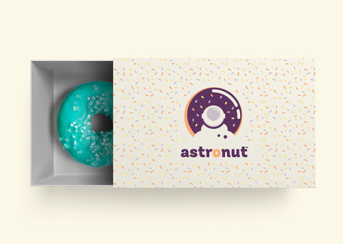 Astronut ® Donuts from Outer space. - By @supermagicfriend #Branding #VisualIdentity