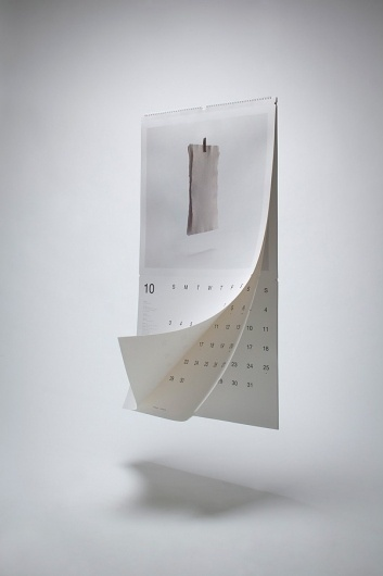 Help Save Paper (Wall Calendar) on the Behance Network #calendar