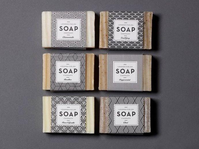 London Field Soap Company by One Darnley Road #geometric