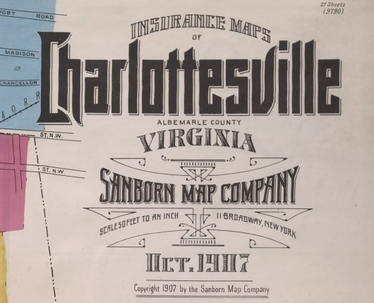 BibliOdyssey: Sanborn Fire Insurance Map Typography #map #typography
