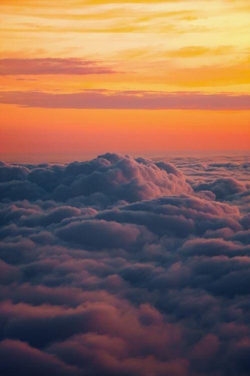heaven #clouds #landcape #orange #bokeh #freedom #photography #sea #beauty