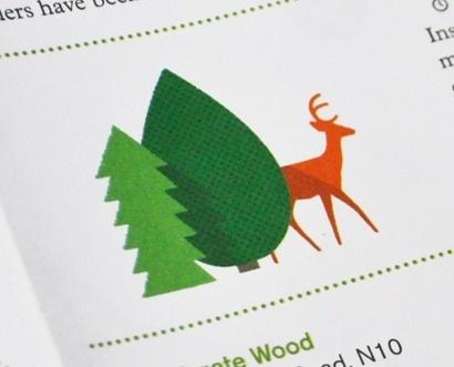 TypeToy.tumblr.com #deer #trees