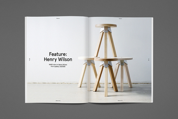 Made Edition 2 | FormFiftyFive – Design inspiration from around the world #product #layout #minimal