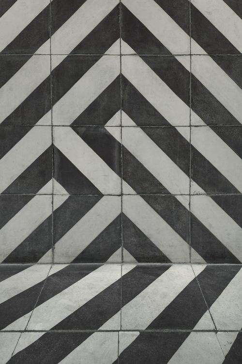 All one tile pattern. #flagging #pattern #tile