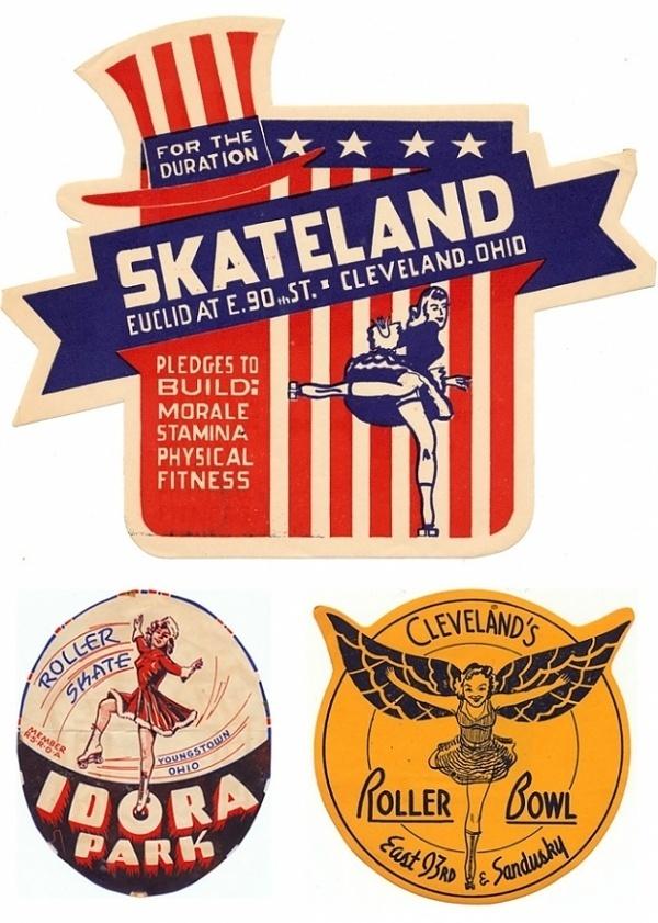 Vintage Skate Coasters | Design.org #flag #skate #vintage #coasters