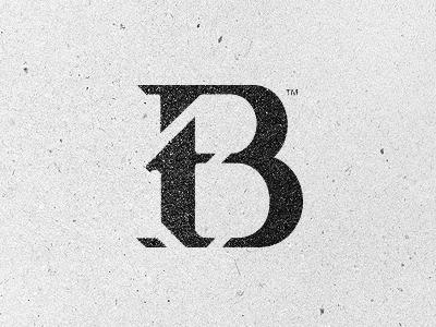 TB Monogram (new) by Tin Bacic #logo design #identity #branding
