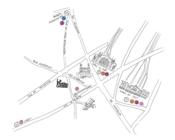 Map #design #graphic #map #lapetitegrosse #drawing