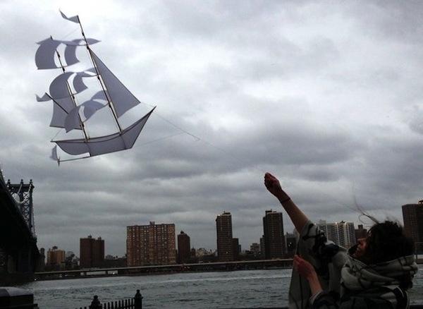 Sailing Ship Kite #gadget