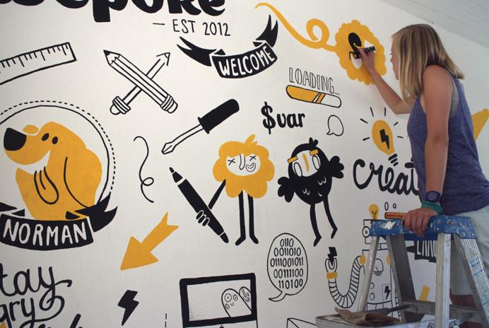 mural, flash, illustration, wepoke